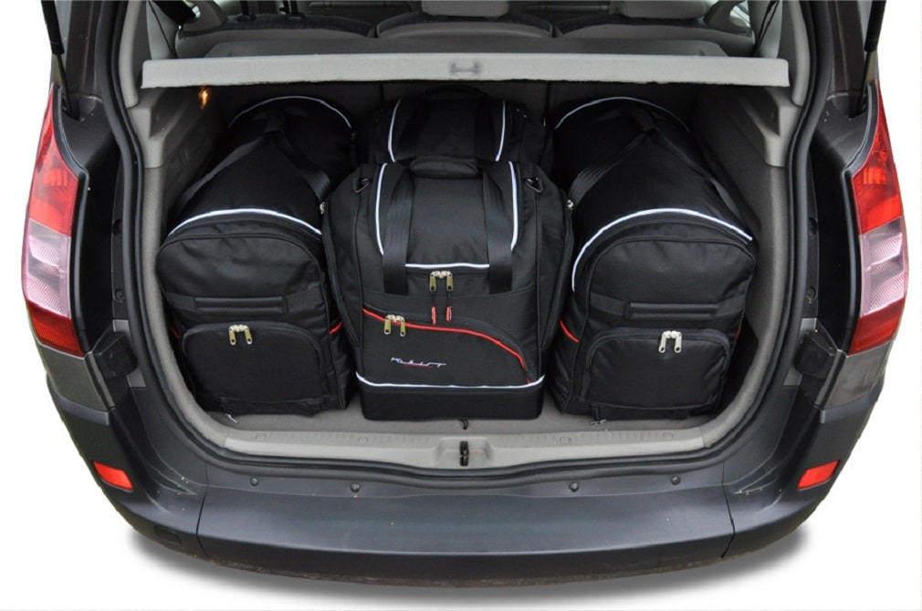 renault scenic minivan 2003 2009 car bags set 4 pcs select car bags set renault scenic. Black Bedroom Furniture Sets. Home Design Ideas