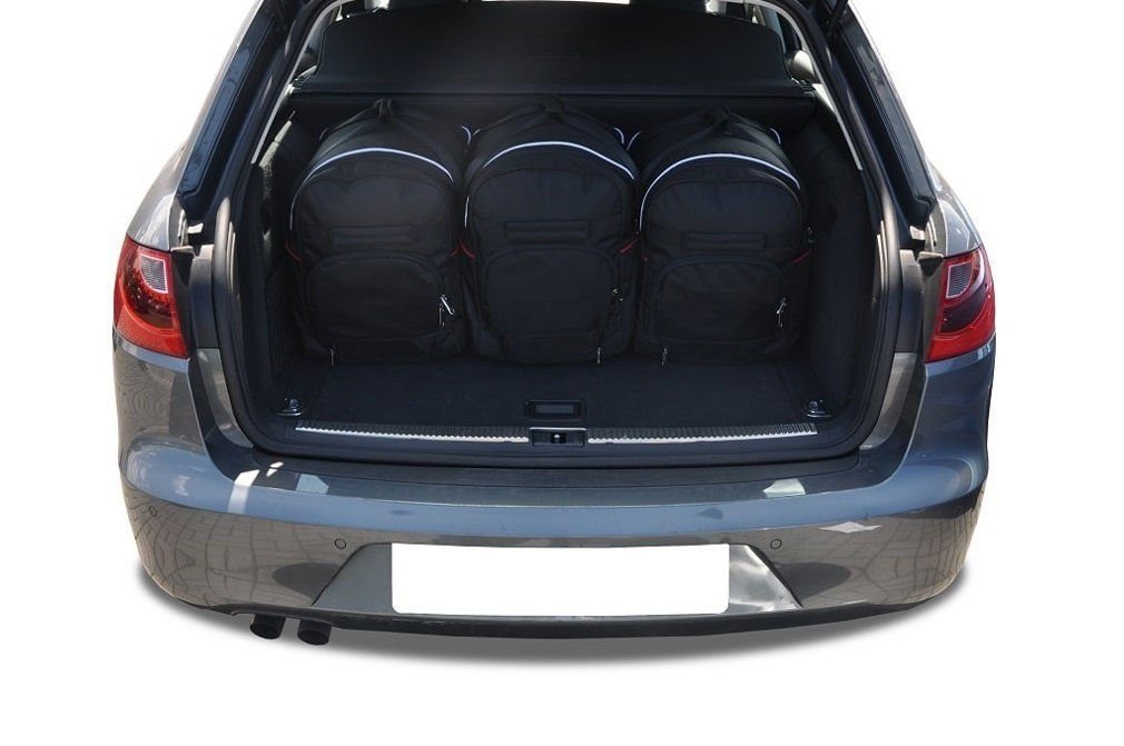 kjust seat exeo kombi 2009 2013 car bags set 5 pcs. Black Bedroom Furniture Sets. Home Design Ideas