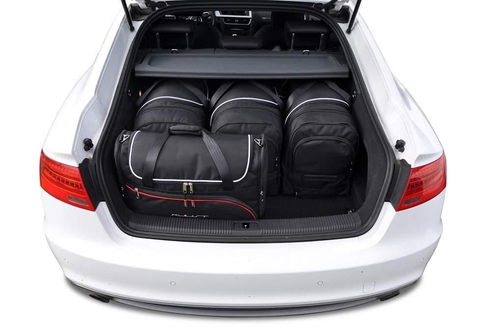 kjust audi a5 sportback 2007 2016 kofferraumtaschen set 5 stk autotaschen sets audi a5. Black Bedroom Furniture Sets. Home Design Ideas